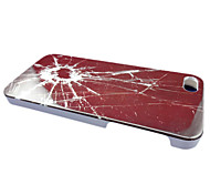 Caso quebrado Glass Design Voltar para o iPhone 5