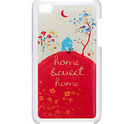 Dream Sweet Home Pattern Epoxy Hard Case for iPod Touch 4