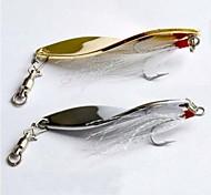 Vendita Hot New 7g/4.4cm metallo Spinner esche da pesca (20pcs)