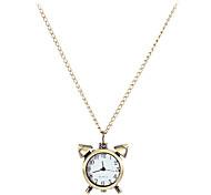 Horloge de style de cru d'alliage de quartz de collier de montre des femmes