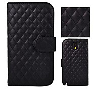 Angibabe Grid Pattern Stand PU Leather Case For Samsung Galaxy Note 3 N9000