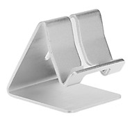 Aluminium Metal Desk Stand Holder for Universal Mobile Phone(White)