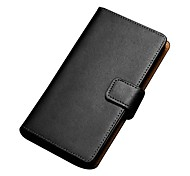 Genuine Leather Wallet Case with Stand Mobile Phone Bag For Sony-Ericsson L39h Xperia Z1