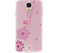 Light Red Sunflower Pattern Plastic Protective Hard Back Case Cover for Samsung Galaxy S4 I9500