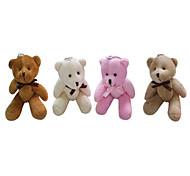 13см Стоя Высота Плюшевые галстук-бабочку Совместная медведь (разных цветов)