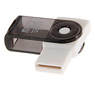 Leitor de Cartão de Memória USB 2.0 (roxo / rosa / preto / vermelho / laranja)