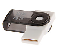 USB 2.0 Memory Card Reader (Lila / Pink / Schwarz / Rot / Orange)