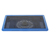"N19 140mm Super Silent High Performance Laptop Cooling Fan (Up to 14"" Inch)Blue"
