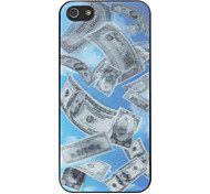 3D Greenback Pattern Hard Case For iPhone 5/5S