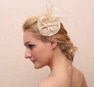 Women's Feather / Fabric Headpiece-Casual Flowers