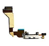 Dock Connector Charging Port Assembly Replacement Flex Cable for iPhone 4 (Assorted Colors)