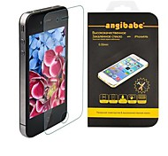 angibabe anti-kras 0.33mm super slanke gehard glas screen protector voor iPhone 4 / 4s