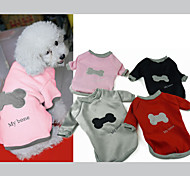 Dog Sweaters - XS / S / M / L / XL - Winter - Red / Black / Pink / Gray Cotton