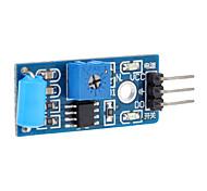 100% новое нормально закрытого типа сигнализации Датчик вибрации модуль индукции Модуль Вибровыключатель SW-420