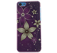 Beautiful Flowers Pattern Hard Case for iPhone 5C