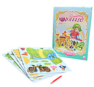 36 Piece DIY Paper Fairy Tale 3D Puzzle The Frog Prince (difficulty 3 of 5)