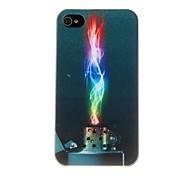 Футляр Красочный Зажигалка Pattern ПК для iPhone 4/4S
