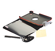 USA Flag Rotating Pouches+Stylus Pen+HD Screen Film+USB Cable+Car Charger for Samsung Galaxy Tab2 P3100