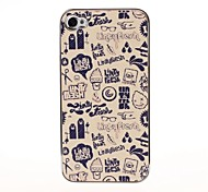 Graffiti Pattern Pasting Skin Case for iPhone 4/4S