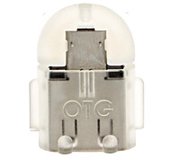 Micro USB 2.0 to USB 2.0 M/F OTG Adapter Grey