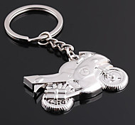 Personalized Engraved Gift Motorcycle Shaped Keychain