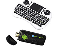 Ourspop U73 + i8 Air Mouse Двухъядерный Android 4.2.2 Google TV Dongle (1 Гб оперативной памяти 8 Гб ROM)