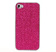 Bling Glitter Shining Pattern Silver Hard Case for iPhone 4/4S