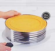 molde para hornear redonda flexibles, diámetro de metal 26-30cm 9cm altura