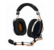 Gaming Over-Ear Headphones with Mic and Noise Reduction