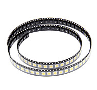 DIY 5050SMD 10-17LM 3000-3500K Warm Chip LED a luce bianca (2.8-3.6V/100pcs)