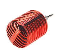 Микрофон Стиль Портативный 3,5 мм динамик для Iphone / Samsung / HTC / Motorola / Nokia (красный)
