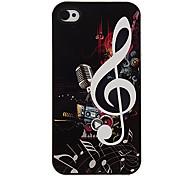 Pesados instrumentos de metal Patrón Hard Case aluminoso para el iPhone 4/4S