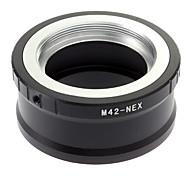 Metal M42 para Sony montura E Tornillo Adaptador de lentes NEX 5/NEX-7/NEX-C3/NEX-5N/NEX-VG10