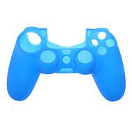 Funda de silicona de controlador de juegos para PS4 (colores surtidos)