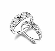 Starry FashionClassic Silver Couple Rings Couple Rings Silver