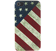 Vintage American Flag Pattern Matte Designed PC Case For iPhone 7 7 Plus 6s 6 Plus SE 5s 5c 5 4s 4