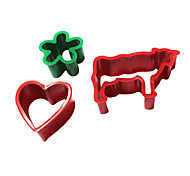 Cow/Flower/Heart Mold for Sandwich/Biscuit/Toast