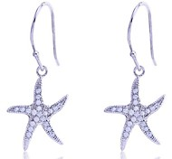 Lureme®CZ Starfish Pendant Earrings\ \ \ \ \ \ \ \ \ \ \ \ \ \ \ \ \ \ \ \ \ \ \ \ \ \ \