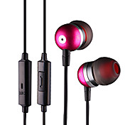 In-ear Headphone with Microphone(Blue,Black,Gray)