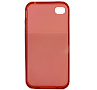 Protective TPU Soft Bumper Frame for iPhone4 (Assorted Colors)
