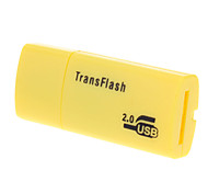 USB 2.0 Micro SD Memory Card Reader (Giallo / Nero / Blu)