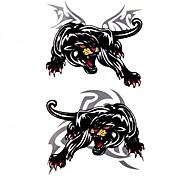 5 Stück Leopard Wasserdicht Tattoo (10,5 cm * 20,5 cm) HM329