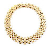 Golden Chain Necklaces Daily Jewelry