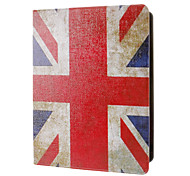 Retro Style Union Jack Pattern Full Body Case with Stand for iPad 2/3/4