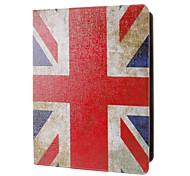 Retro Style Union Jack caso modello completo con supporto per iPad 2/3/4