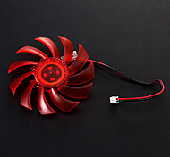 8cm Plastic Graphics Fan
