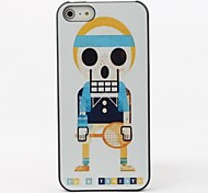 Skull Tennis Player Protective Hard Back Case for iPhone 5/5S
