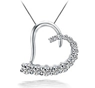 925 Sterling Silver Necklace Set Aircon Warm Love