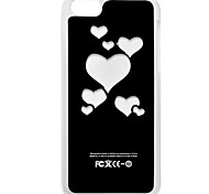 Love Heart Flash Lighting Hard Case for iPhone 5C