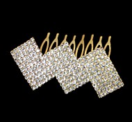 Women's Rhinestone/Alloy Headpiece - Wedding/Special Occasion Hair Combs